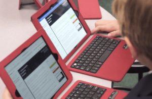 Students Using Khan Academy on iPads