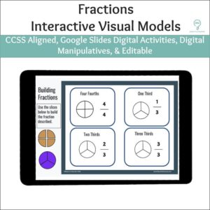 Fractions Digital Activities