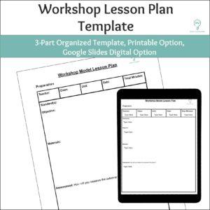 Workshop Lesson Plan